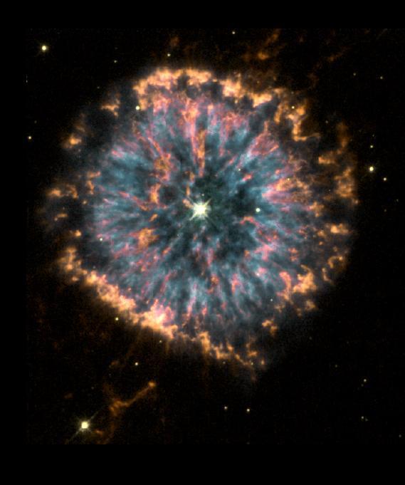 The Stellar Life Cycle Planetary Nebula White Dwarf