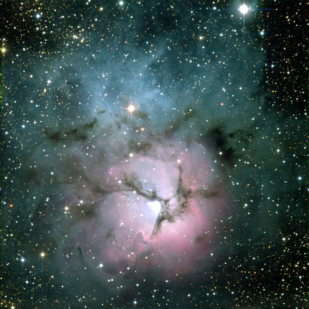 Trillions of tons of fatty substances in interstellar space